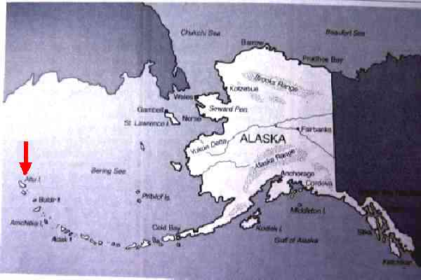 TIL: During WWII, the Japanese invaded Alaska, and more Americans were killed or wounded defending Alaska than at Pearl Harbor. http://www.history.com/topics/battle-of-the-aleutian-islands Discussion on reddit: http://www.reddit.com/r/todayilearned/comments/1rirxb/til_that_during_wwii_the_japanese_invaded_alaska/