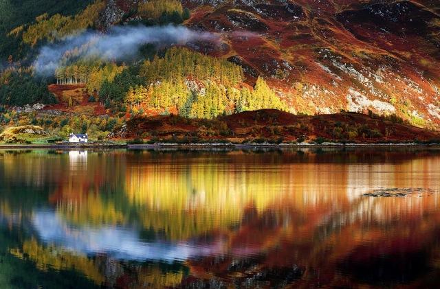 Autumn in the Scottish Highlands
