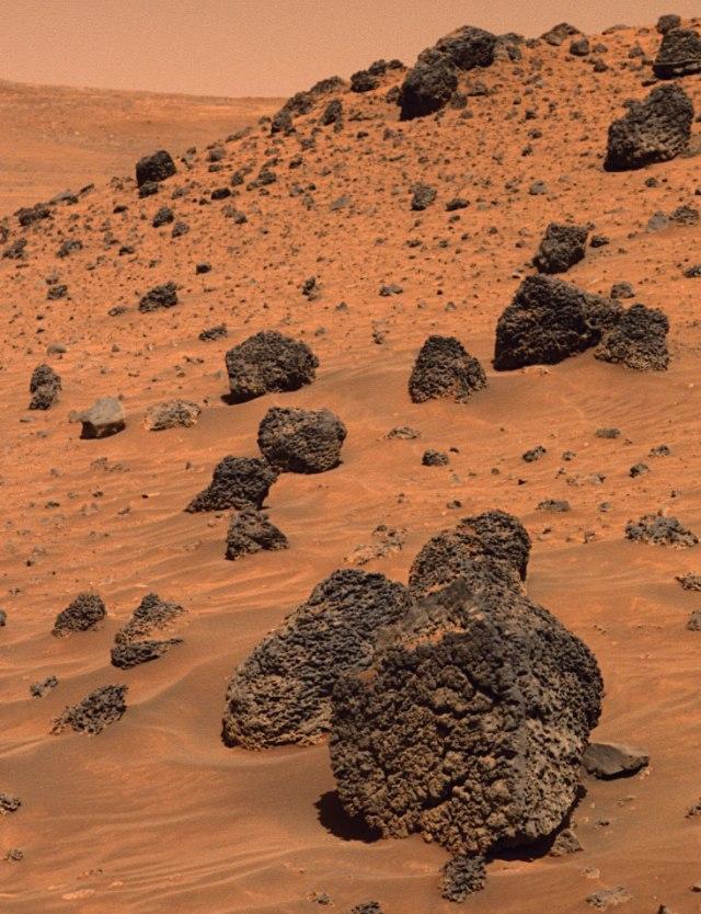Gusev Crater, Mars.