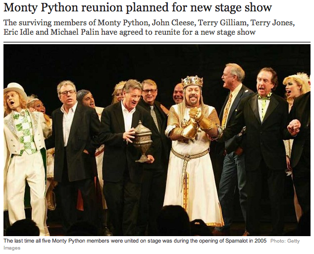 http://www.telegraph.co.uk/culture/comedy/comedy-news/10458965/Monty-Python-reunion-planned-for-new-stage-show.html