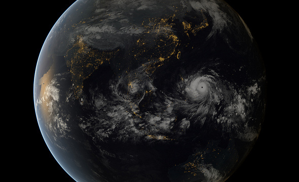 Typhoon Haiyan possibly the strongest recorded storm ever to make landfall