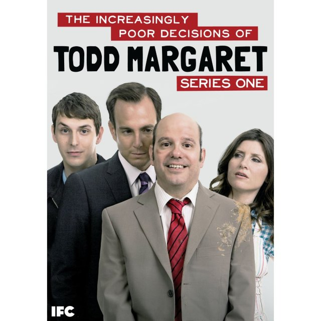 The Increasingly Poor Decisions of Todd Margaret is a British-American comedy series starring David Cross, Sharon Horgan, Blake Harrison, Will Arnett, and Spike Jonze