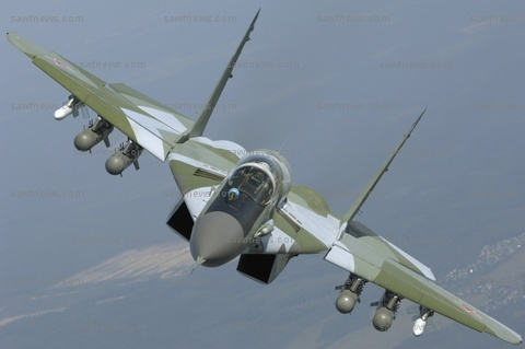 Click for video of the Mig-29 strafing