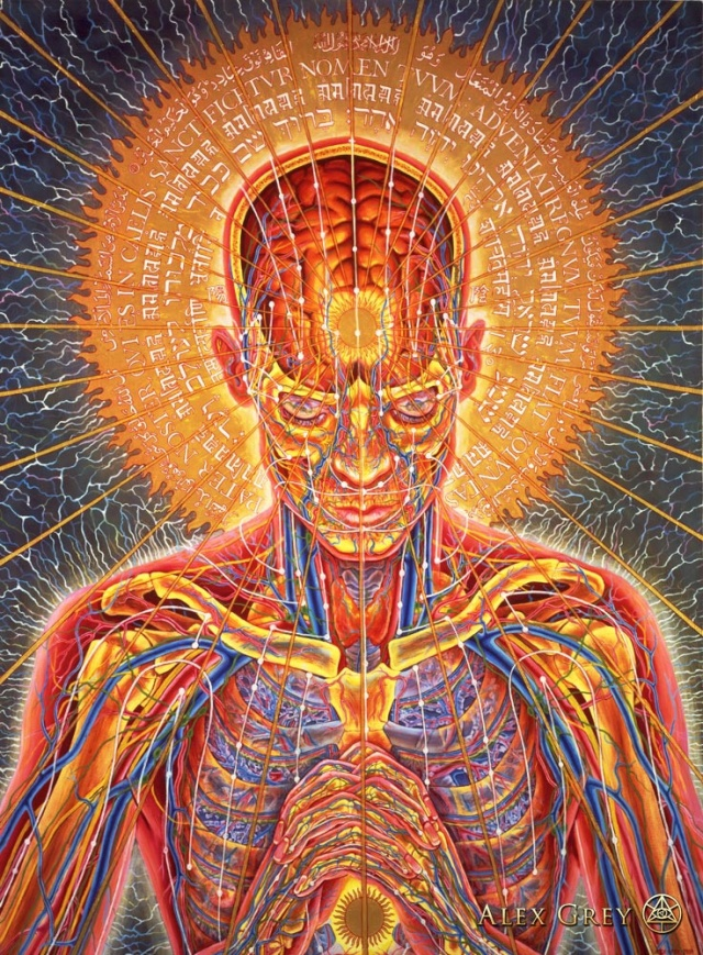 Some amazing pieces of art by Alex Grey [Click for IMGUR album]