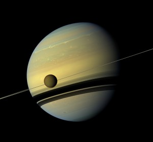A large album of exposures captured by the Cassini spacecraft of the Saturnian system.